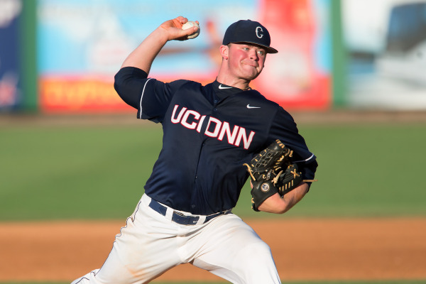 William Montgomerie pitched UConn into the championship game (Photo: UConn Athletics)
