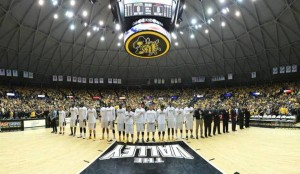 Wichita State's Koch Arena, where UConn will play an AAC game on Feb. 10.